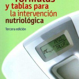 Manual de Fórmulas y Tablas para la Intervención Nutriológica