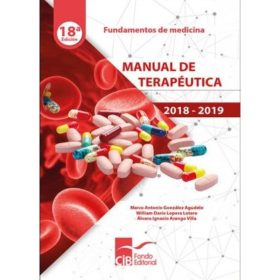 Manual de Terapéutica 18ava Ed.