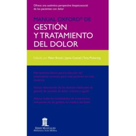 Manual Oxford de Gestion y Tratamiento del Dolor